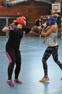 Mona Husac vs Sophia Smith båda team Golden Girl