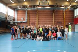 nästan alla deltagare Golden Girl Camp 2015