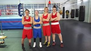 tatiana och andra boxare